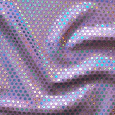 bespoke bikini material MF5027 lilac sequin