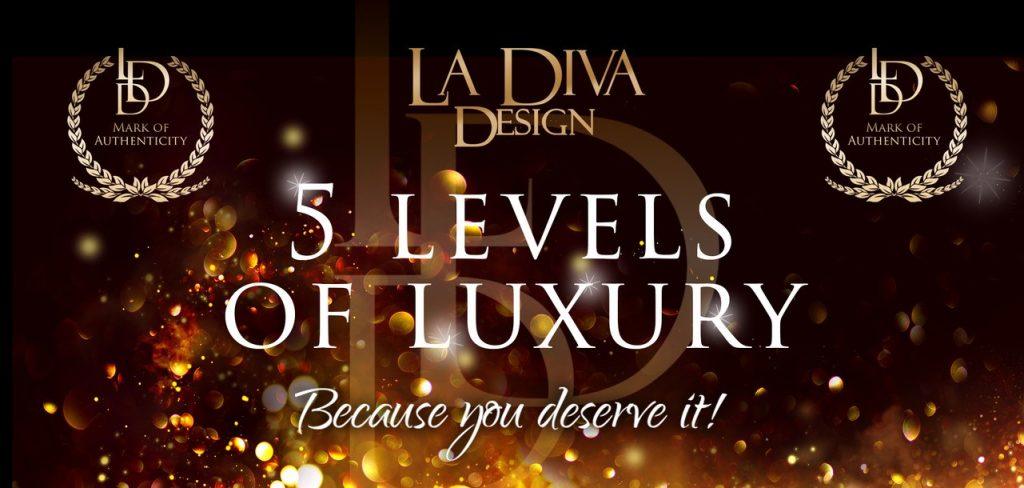 La Diva Design - 5 levels of luxury bespoke competition bikini and figure suits