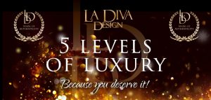 La Diva Design - 5 levels of luxury bespoke competition bikini and figure suits