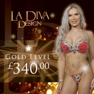 La Diva Design Gold level bikini