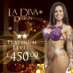 La Diva Design Platinum level bikini