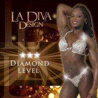 La Diva Design Diamond bespoke bikini