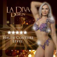La Diva Design Haute Couture bespoke bikini