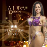 La Diva Design Platinum bespoke bikini