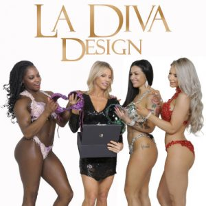 La Diva Design bespoke competition bikinis