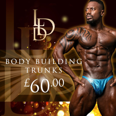 Competition Body Building Trunks from £60