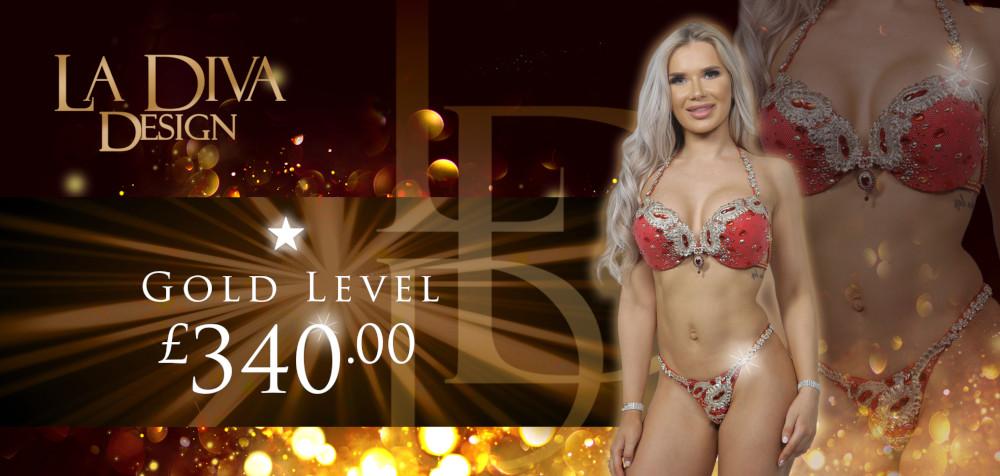 Bespoke Competition Bikinis - Gold Level