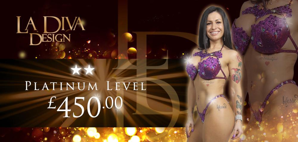 Bespoke Competition Bikinis - Platinum Level