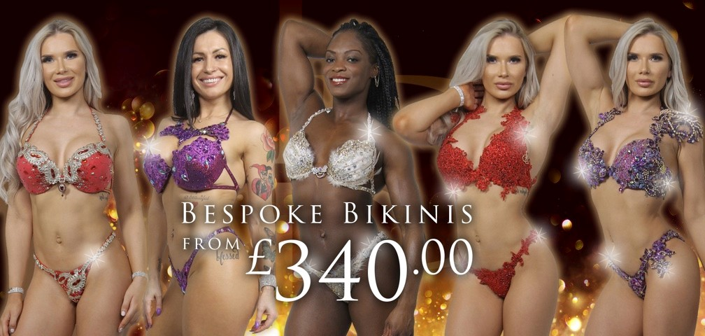 Bespoke bikinis and competition bikinis from La Diva Design